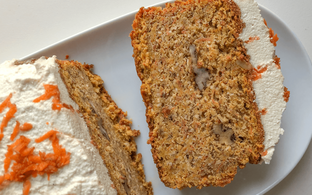 Carrot Cake mit Cashew Frosting